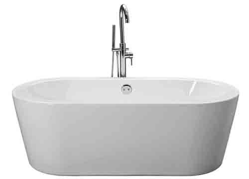 Designer bathroom freestanding modern roll top baths ebay for Small baths 1300