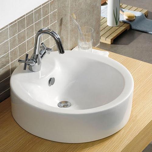 CA71 - Modern Round Counter Top Bathroom Basin Sink Bowl