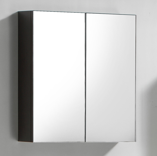 this 600mm twin door wall mounted bathroom cabinet is manufactured