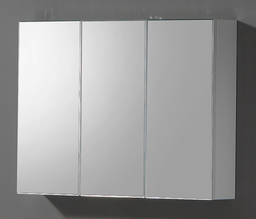 this 900mm triple door wall mounted bathroom cabinet is manufactured
