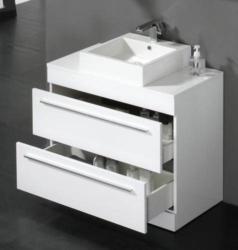 Bathroom sink basin floor storage cabinet vanity unit ebay for Bathroom cabinets 800mm wide