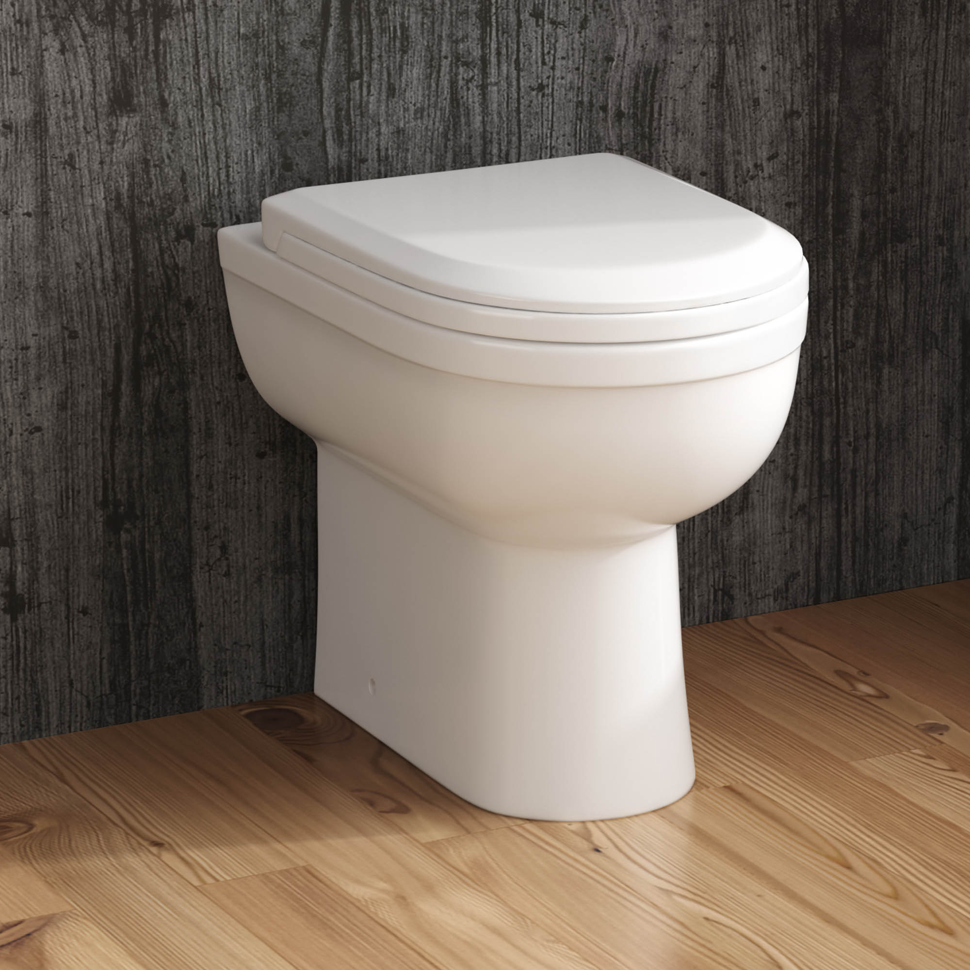 Close coupled or back to wall toilet pedestal sink for Bath sink and toilet packages