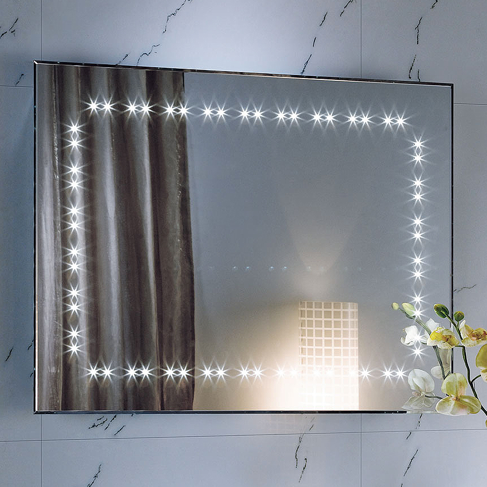 Illuminated Mirrors Bathroom: 600 X 800 Wall Hung Vanity Modern Bathroom Slimline