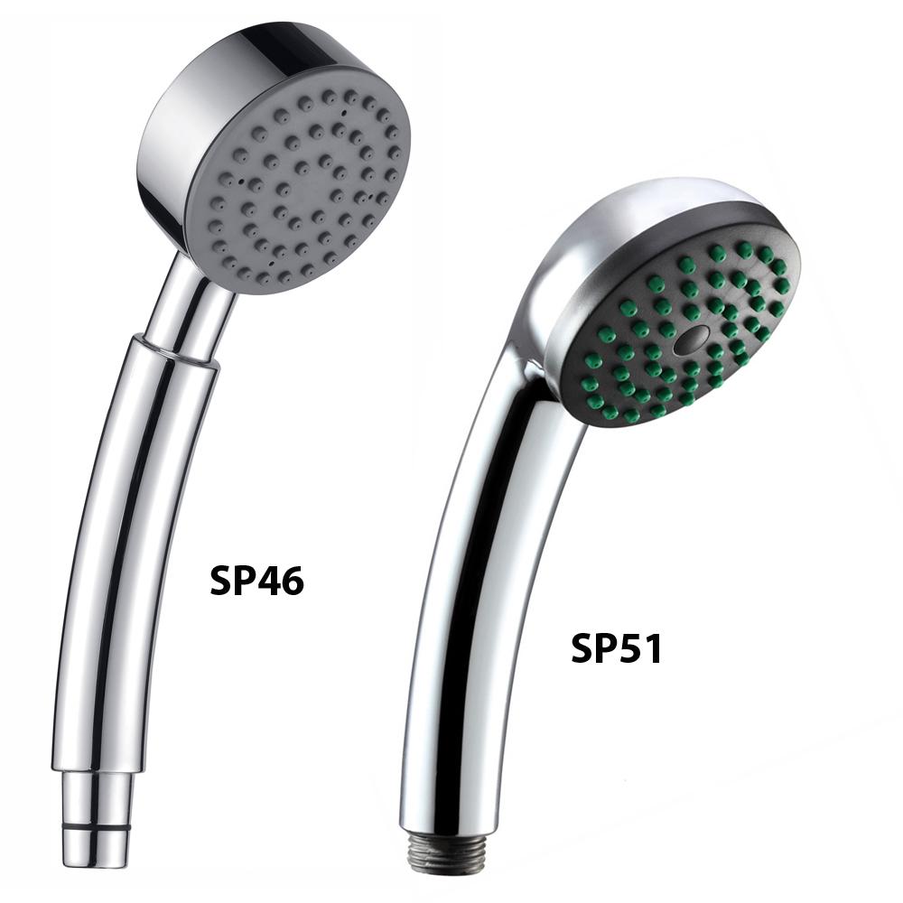 Portable Shower Heads With Hose : Chrome hand held thermostatic mixer shower head hose ebay
